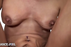 Aunt fuck by young boy she love take it in her ass