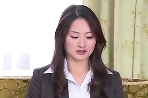 Japanese business woman forced by her boss (Full: tinyurl.com/y7xv2nfd)