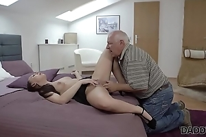 DADDY4K. Young hottie well penetrated by master daddy in bedroom