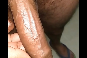 Indian guy suborn massaged dick all nerves closeup look HD