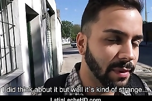 Young Straight Spanish Latino Tourist Fucked For Cash Outside By Gay Lovemaking Documentary Filmmaker