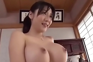 Miho Ichiki - son begged big tits stepmom , finaly stepmother and son fucked