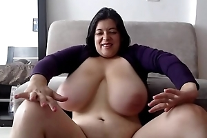 Naughty MILF with Heavy Hangers