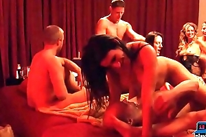 Real amateur couple ready to swing with other couples