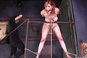 Huge tits hairy cunt redhead banged
