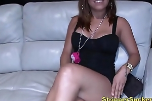 Slip up on Party Goes Crazy For Stripper Cocks