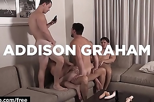 Addison Graham with Aspen Evan MarcoTobias at Str8 Bitch Part 4 Scene 1 - Trailer preview - Bromo