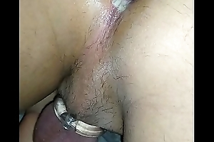 Trying a new bigger dildo in my ass Part 2