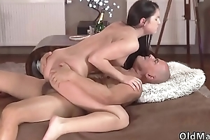 Older daddy and lady webcam Vacation in mountains