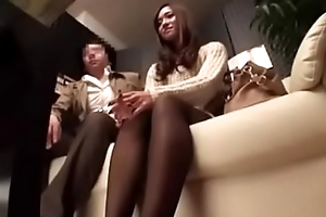 massage sex of wife beside her husband