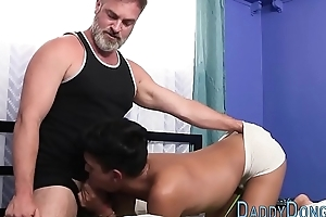 Latin stepson raw banged