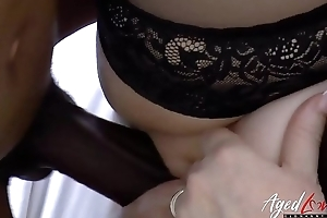 AgedLovE Lacey Starr Interracial Hardcore Coitus