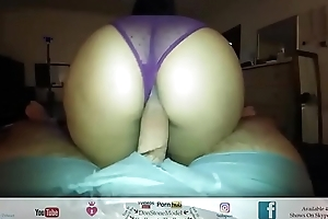 Big Booty Latina Time Of His Life Riding His Hairy Dick POV Amateur Couple