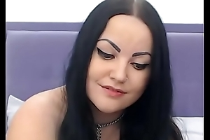 Down in the mouth Pallid BBW on Webcam