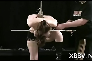 Sexy female naughty bdsm scenes with castigation and sex