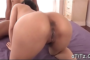 Fascinating asian with interesting boobs enjoys lusty pussy fingering