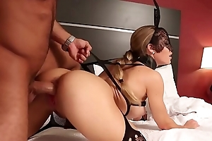 Young blondes Alix &amp_ Elsa lick each other'_s wet pussies