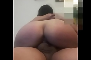 silly latina riding