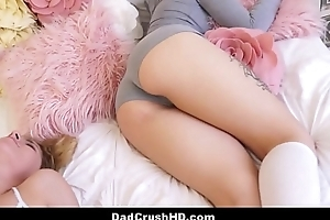 Cute Teen Step Daughter Alana Summers Woken Up And Fucked By Step Dad While Step Daughter Natasha Blue Sleeps