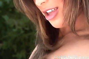 Emerald Eyed Audrianna Angel Have the impression Fucks Outdoors!