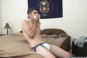 Silver Fox Daddy Fucks Twink In Jockstrap
