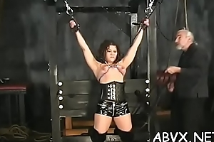 Stark naked chicks roughly bringing off in bondage xxx amateur clip