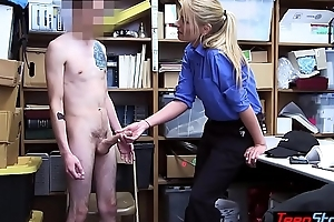 MILF LP officer Rachael Cavalli fuck a big cocked thief