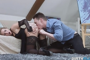 Expensive Russian slut gets fucked hard till facial