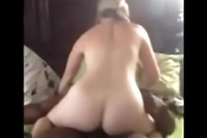 Black guy fucking white slut