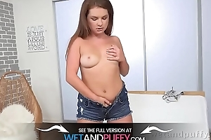 Hot masturbation and dildo play for babe with big tits - Incredible Pussy