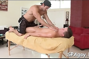 Delightsome stud is capturing gay'_s attention with blowjob