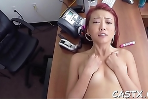 Hot dude checks sex skills of a beauty as a casting test