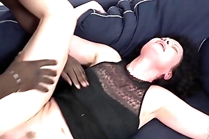 His popular penis makes the housewife have multiple orgasms with screaming pleasure
